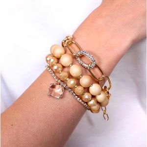 🌼✨Brinley 4pc Bracelet Set